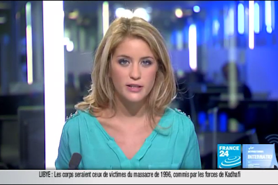2011 09 26 @06H30 - PAULINE PACCARD - FRANCE 24 - LE JOURNAL