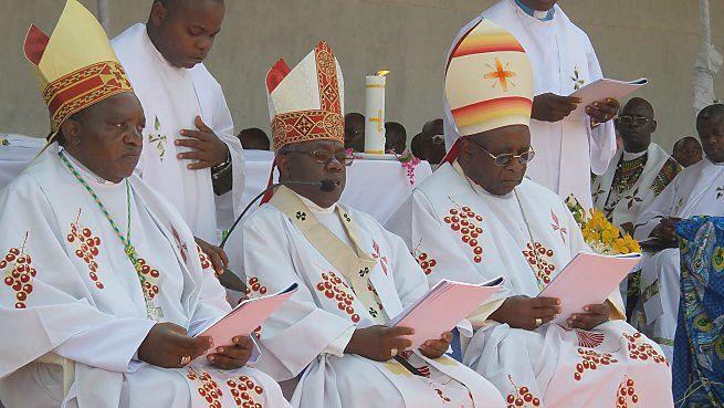 Imágenes de la CENCO, o Conferencia episcopal Nacional del Congo.- El Muni.