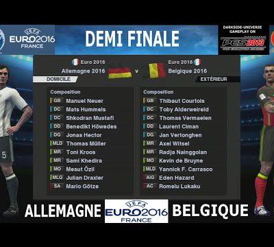 EURO 2016-Demi: ALLEMAGNE-BELGIQUE