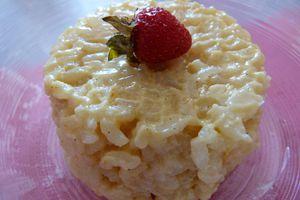 Riz au lait à la MAP : abricot - vanille