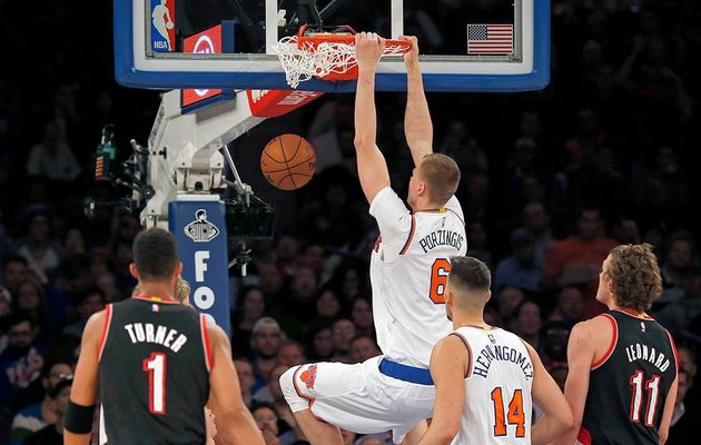 Les Knicks dominent Portland