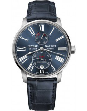 Ulysse Nardin Marine Chronometer Torpilleur 42mm Mens Watch Replica