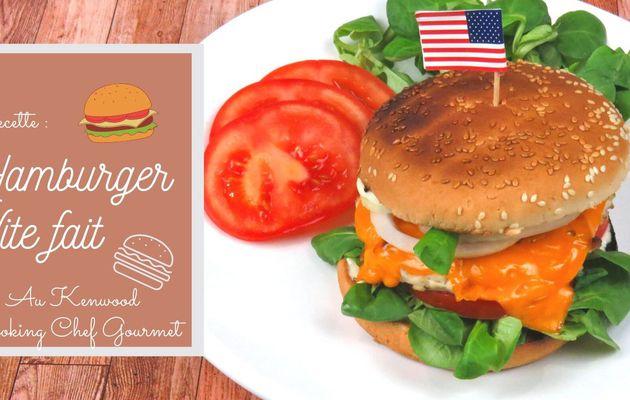 [Cuisine] Hamburger, vite fait !