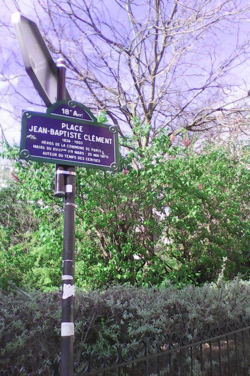 La place Jean-Baptiste Clément à Montmartre