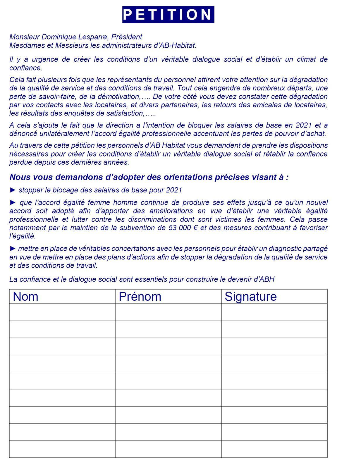 Les salariés d'AB Habitat s'invitent au conseil d'administration: où sont les valeurs des COOP HLM ?