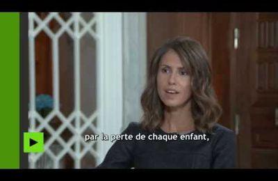 L'épouse de Bashar el-Assad commente la couverture du conflit syrien par les médias occidentaux