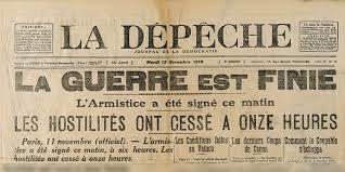11 novembre 1918-2018 : que s'est-t-il passé quelques mois avant l'armistice ?