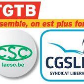 Mercredi 13 février : GRÈVE NATIONALE unitaire en BELGIQUE pour l'augmentation des salaires et des pensions