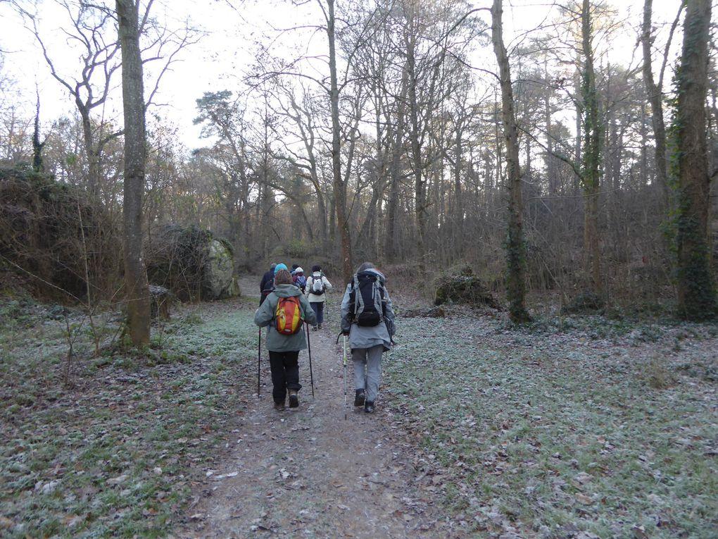 Randonnée de Nemours à Souppes-sur-Loing - 1/2 - 23,4 km.