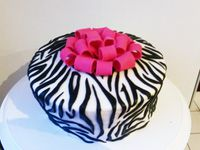 Gâteau zèbre