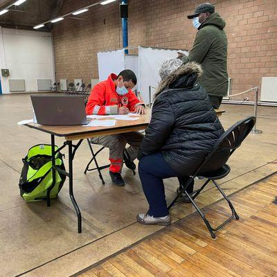 Dépistage de la Covid-19 : une centaine de personnes a été testée salle Chanteloup à Aulnay-sous-Bois