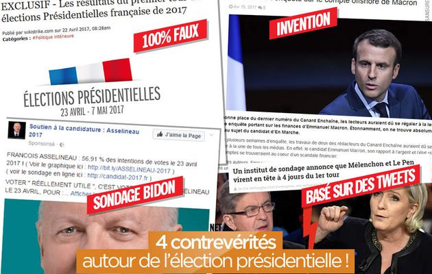 4 contrevérités autour de l'élection présidentielle ! #désintox