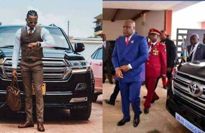 Diamond Platmnuz s'offre la même voiture que le président Félix Tshisekedi