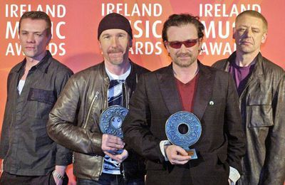 U2 -Meteor Ireland Music Awards -Théâtre de pointe -Dublin  -03/03/2003