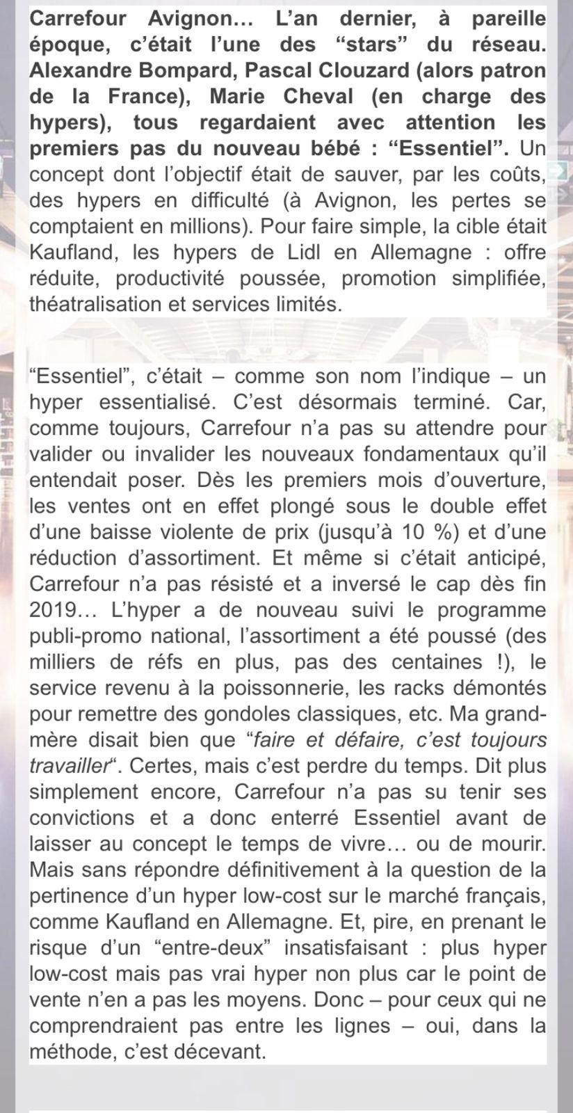 Avignon: Carrefour Essentiel n'est déjà plus (et c'est dommage)
