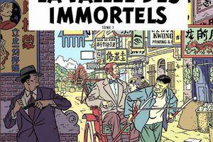 La vallée des immortels, tome 1 - Les aventures de Blake et Mortimer