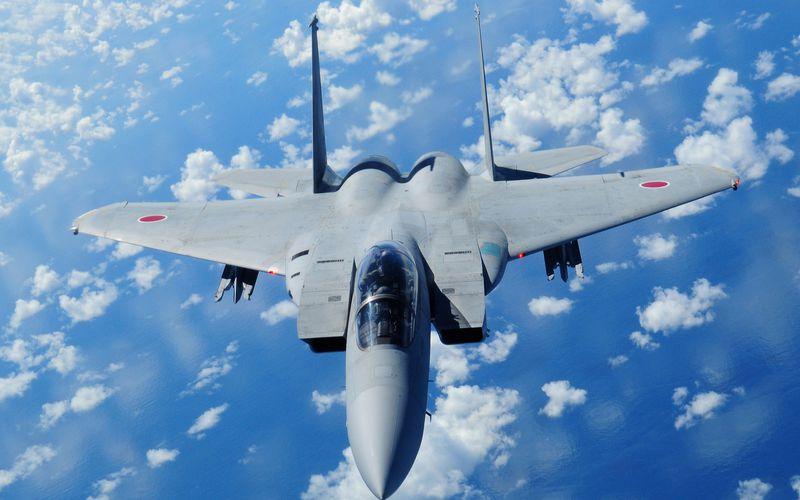 115 interceptions pour les avions de chasse japonais.