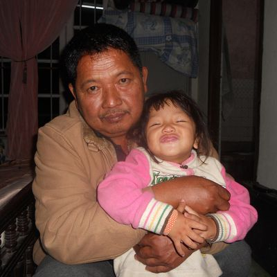 dad with my niece