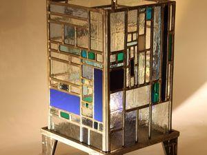Des luminaires créatifs en vitrail