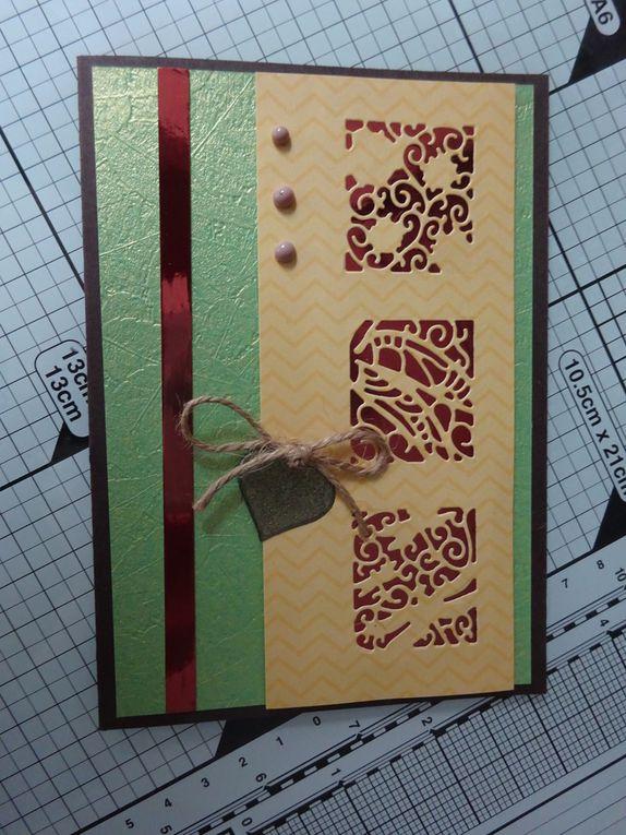 [Tonic Craftkit] Woodland Walk: 3 exmples de cartes et une boîte