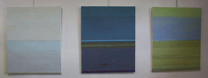 Dimanche 21 et lundi 22 avril exposition au local de Coloc'art de 3 de ses adhérents.