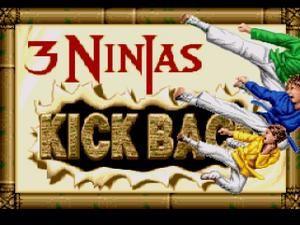SNES 3 Ninjas Kickback