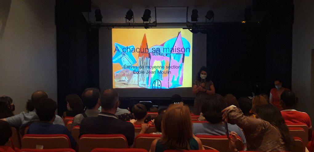 Les marmitons de Catherine. Projection du film crée par la classe de MS Catherine pour les parents.