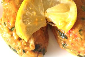 Kefta aux lentilles corails (mercimek koftesi)