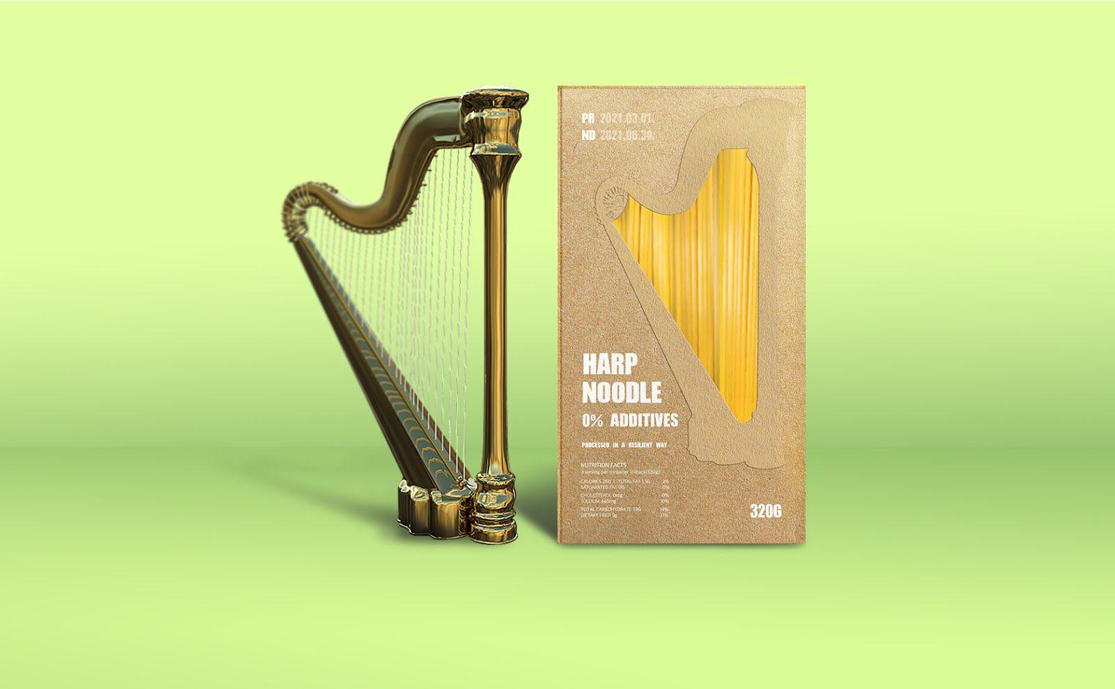 Harp Noodles I Design : ONEJAE LEE, Corée du Sud (mars 2021)
