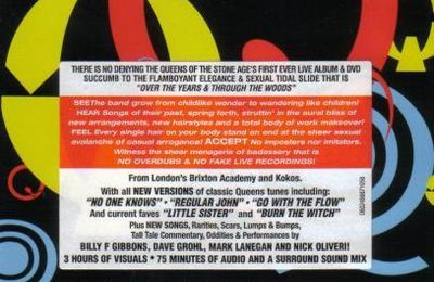 QUEENS OF THE STONE AGE : Over the Years and through the Woods (DVD)
