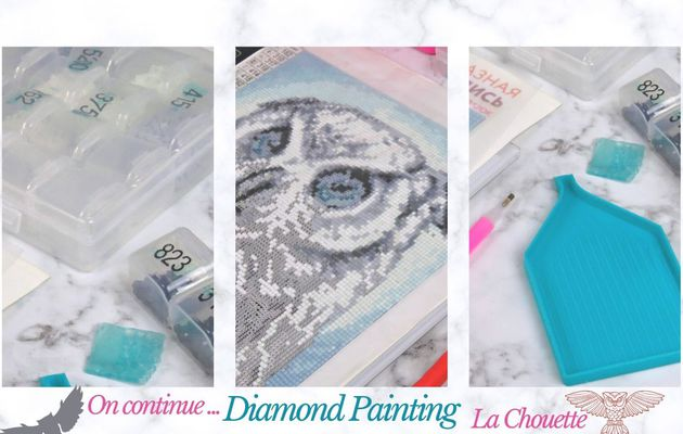 "Diamond Painting, la suite de ""La Chouette""..."