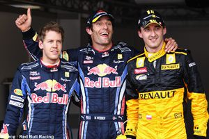 Christian Estrosi en visite chez Renault F1
