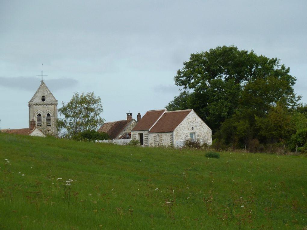 Randonnée de Chaumont-en-Vexin à La Villetertre - 20 km.