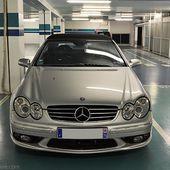 AG52 * Mercedes CLK (W209) 55 AMG Cabriolet - Palais-de-la-Voiture.com