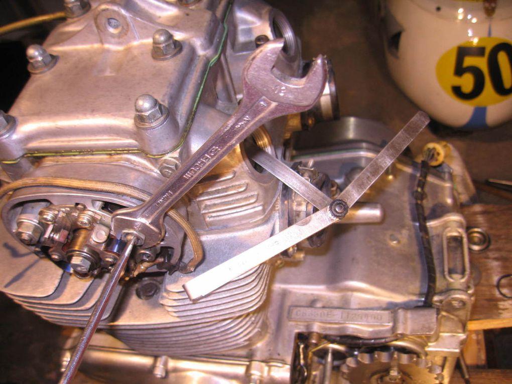 Réfection d'un moteur Honda CB 350