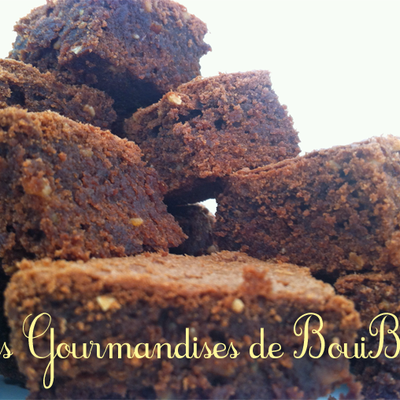 Brownies au Pralin