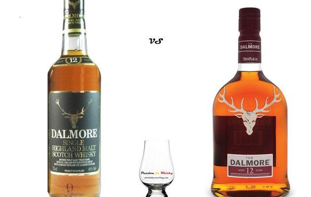 Dalmore 12Y ancienne et nouvelle génération.