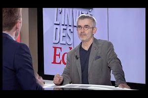 Yves Veyrier, Secrétaire général de Force Ouvrière, était L'Invité des Echos