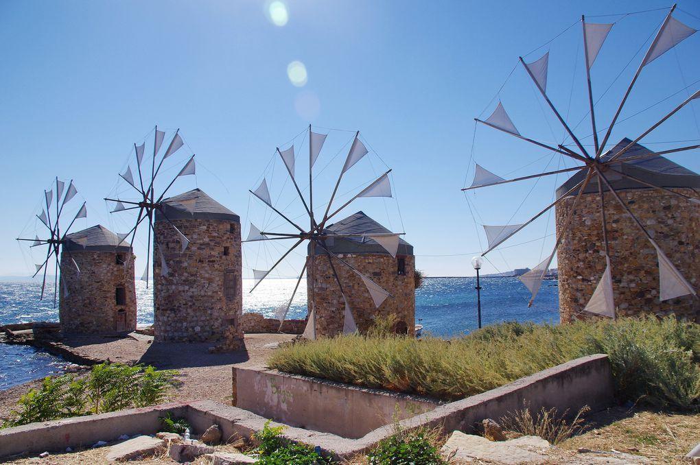 Les Moulins de Chios ...