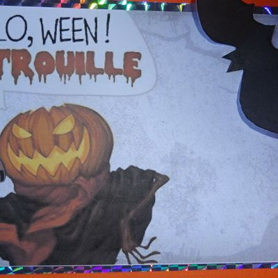 Mes ouvrages - mes cartes Halloween
