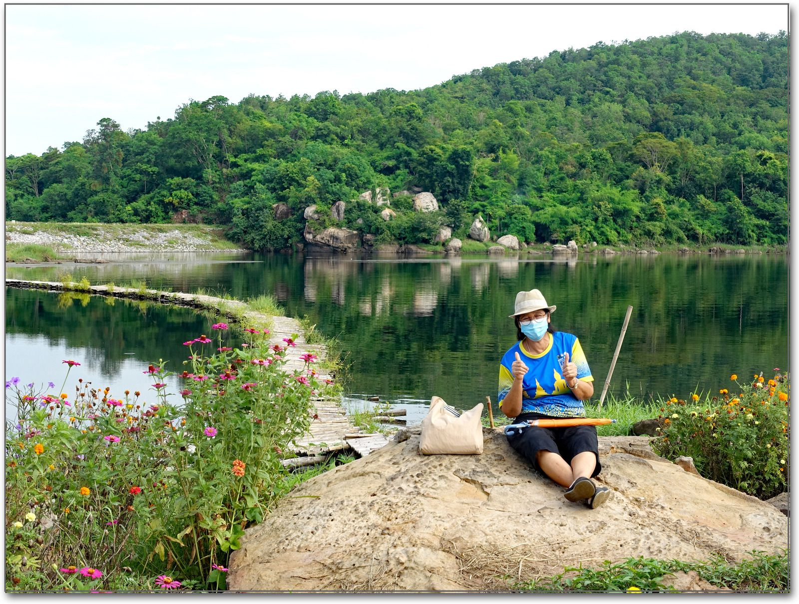 Le lac That Haï (Province de Nongbua Lamphu)