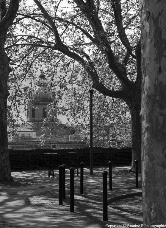 Jour d'Avril à Toulouse
