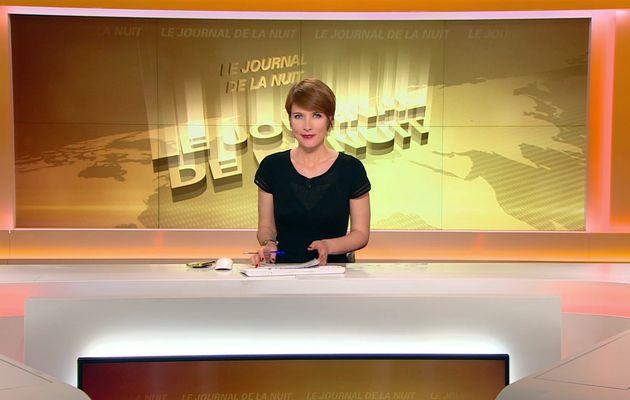📸6 LUCIE NUTTIN @LucieNuttin @JohannaCarlosD8 pour LE JOURNAL DE LA NUIT cette nuit @bfmtv #vuesalatele