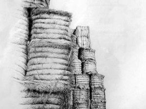 Forteresses de paille - Burin - 2005