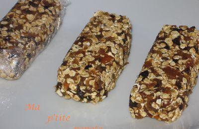 Barres céréales sans cuisson