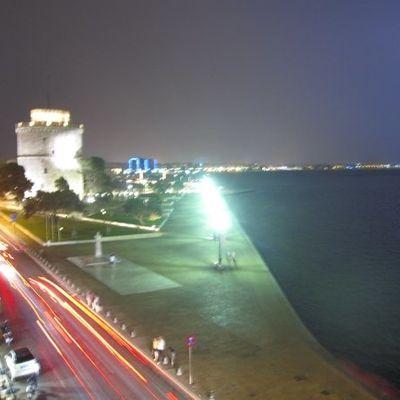 Orage à Thessaloniki