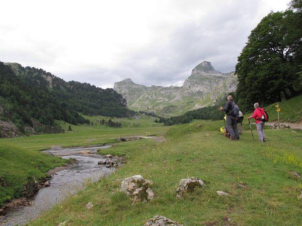 Séjour en vallée d'Ossau - Jour 1, groupe 2.