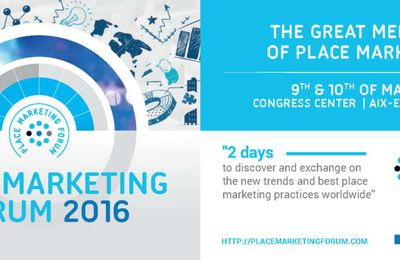 Place Marketing Forum 2016 - Save the date!