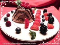 Bowl cake à la framboise et aux fruits rouges