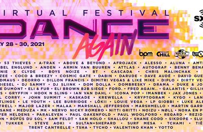 Tiësto tracklist | Dance Again Festival | may 28, 29 and 30, 2021